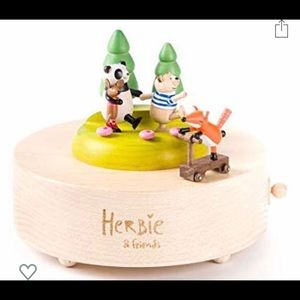 Herbie and Friends Wooden Musical Box